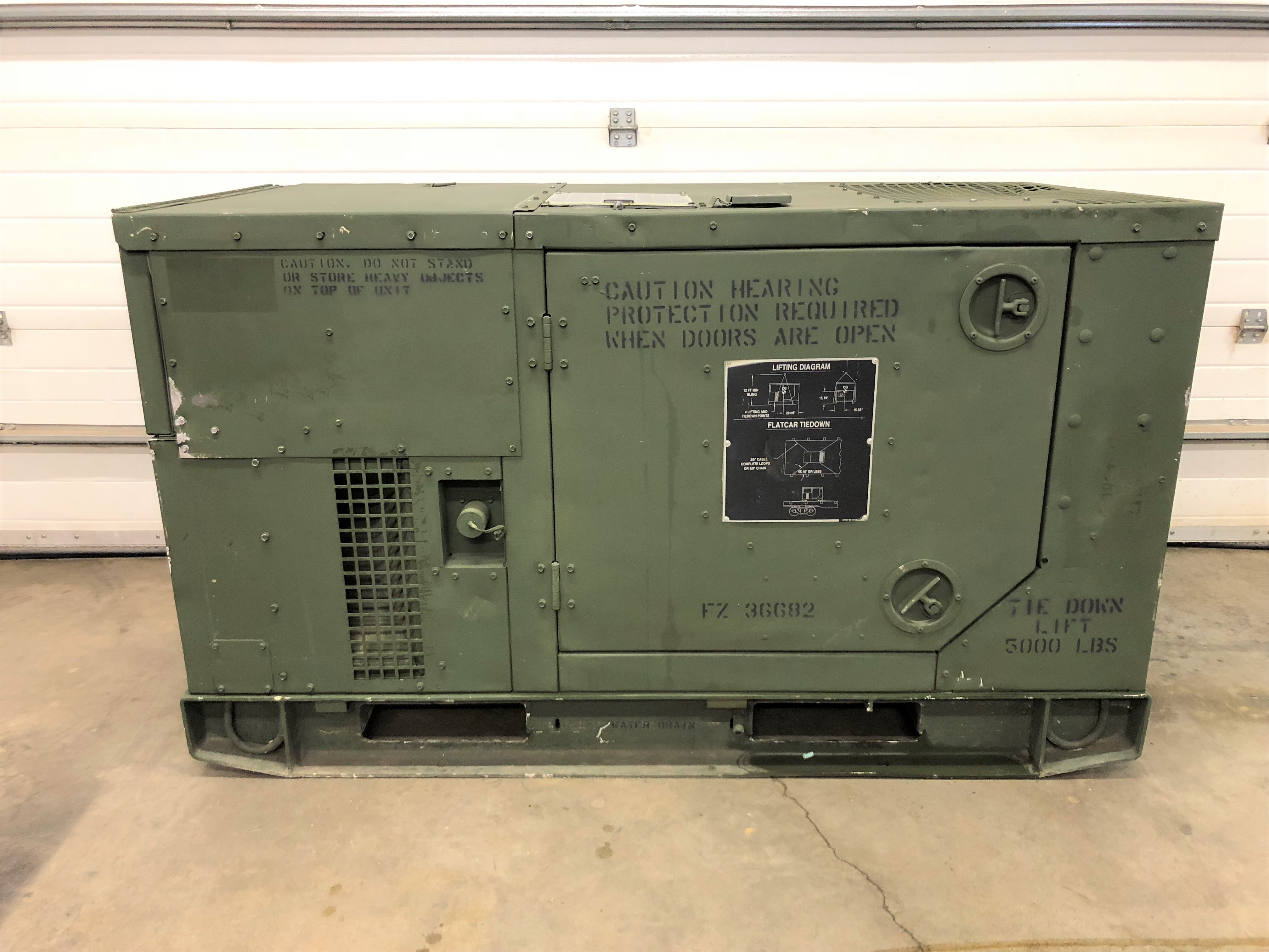 10kW Onan Diesel Generator