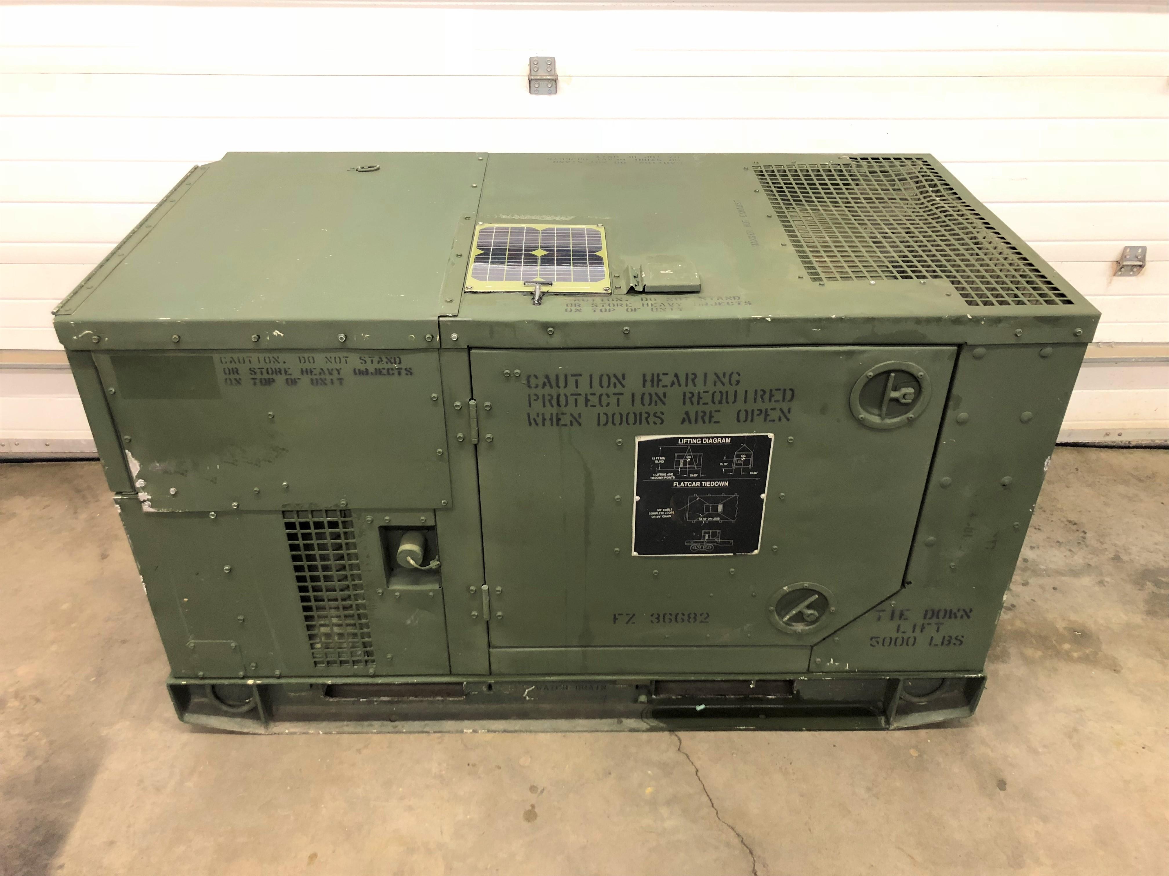 10kw Onan Diesel Generator Hallvin Equipment
